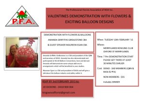 PFANSW Balloon Demo Invite